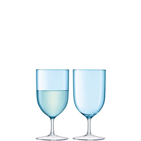 Set of Two Hint Wine Glasses 400ml, ${color}