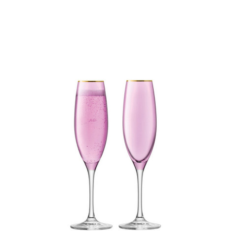 Set of Two Sorbet Champagne Flute, ${color}