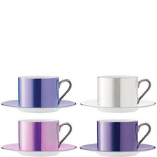 Polka Teacup Set of 4
