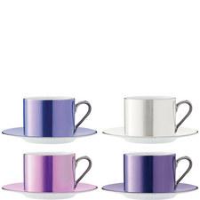 Polka Teacup Set of 4