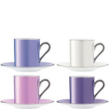 Polka Coffee Cup Set of 4