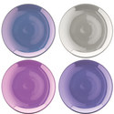 Polka Tea Plate Set of 4, ${color}