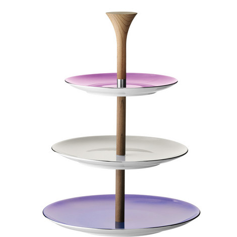 Polka Tiered Cake Stand, ${color}