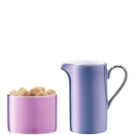 Polka Cream and Sugar Set, ${color}