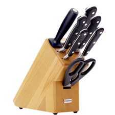 Classic New Knife Block 7 Piece Set