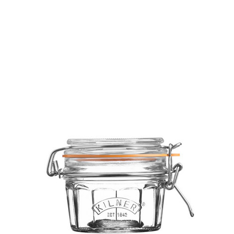 Facetted Clip Top Jar 0.25L, ${color}