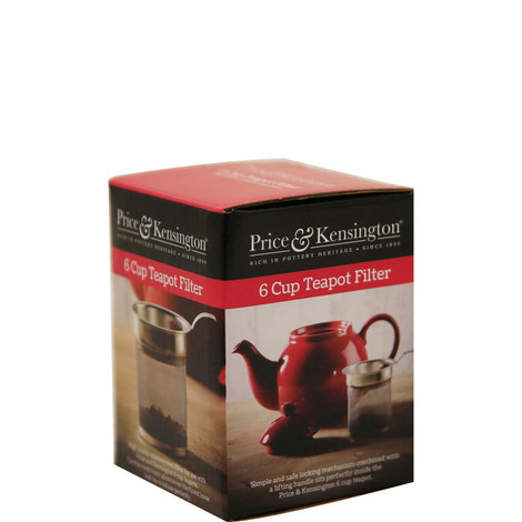 Price and Kensington 6 Cup Teapot Filter, ${color}