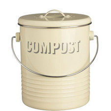 Vintage Compost Caddy