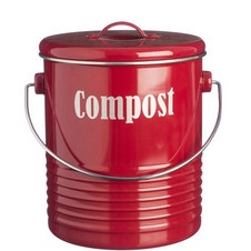 Vintage Compost Caddy