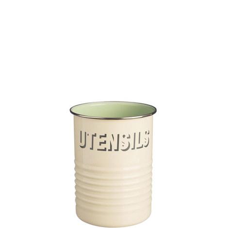 Vintage Kitchen Utensil Pot, ${color}