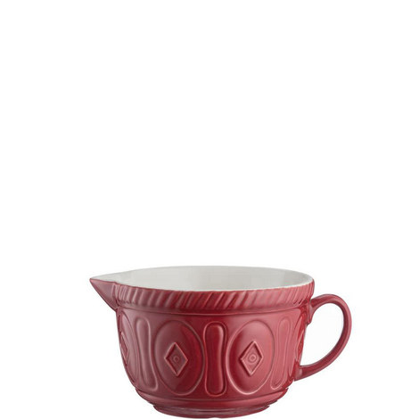 Cane Batter Bowl 25cm, ${color}