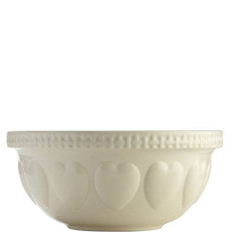 Mason Cash Heart Mixing Bowl, ${color}