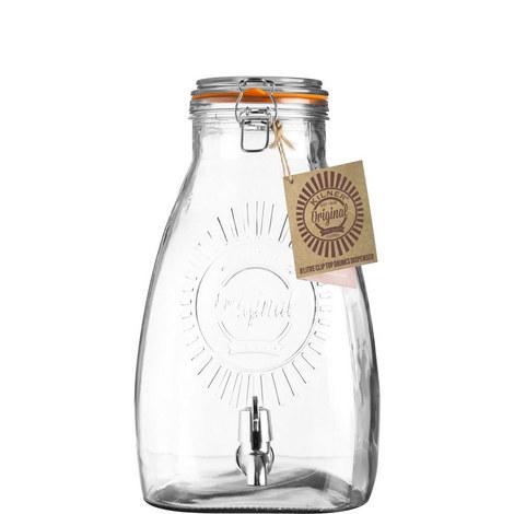 Clip Top Square Drinks Dispenser 8L, ${color}
