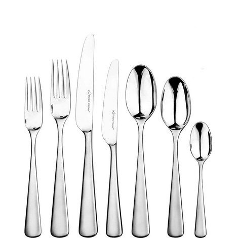 Mahogany 42 Piece Cutlery Set, ${color}