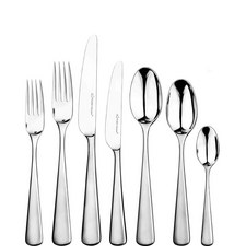Mahogany 42 Piece Cutlery Set