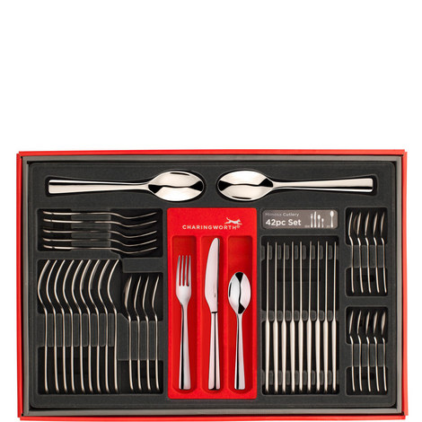 Mimosa Compact Cutlery Set 42 Pieces, ${color}
