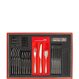 Santol Mirror Cutlery Set 24 pieces