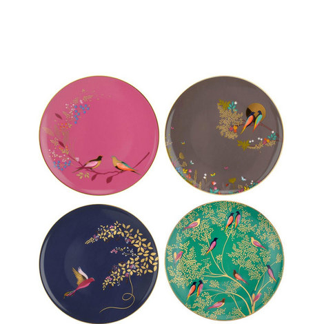 Chelsea Collection Plates x 4, ${color}