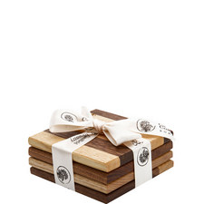 Set of 4 Wooden Coasters