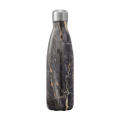 Bahamas Marble Insulated Water Bottle, ${color}