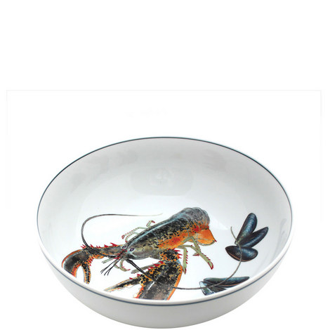 Seaflower Serving Bowl 23cm, ${color}