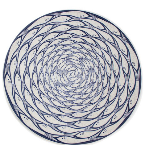 Sardine Run Charger Plate, ${color}