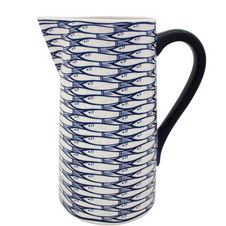 Sardine Run Straight Pitcher
