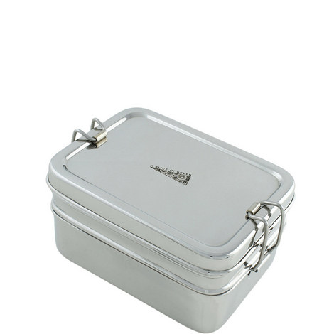 Two Tier Lunch Box with Mini Container, ${color}