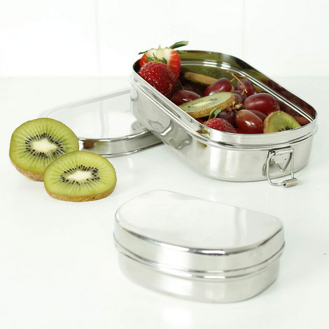 Lunch Box with Mini Container, ${color}