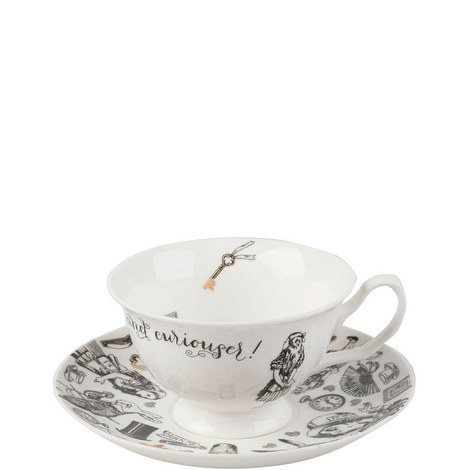 Alice in Wonderland Cup and Saucer, ${color}