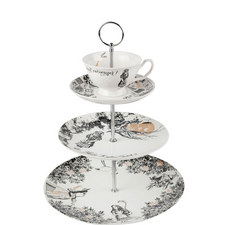 Alice in Wonderland Tiered Cake Stand
