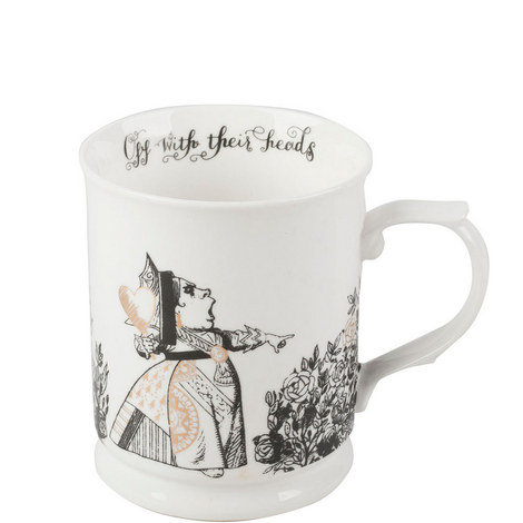 Alice in Wonderland Tankard Mug, ${color}