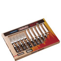 Set of 12 Churrasco Barbeque Cutlery, ${color}