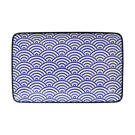 Nippon Wave Serving Plate, ${color}