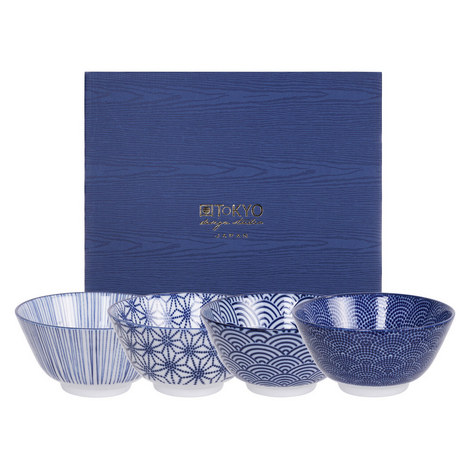 Nippon Rice Bowl 4 Set, ${color}