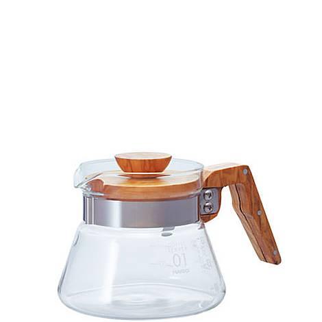 Hario V60 Glass Coffee Server 600ml, ${color}