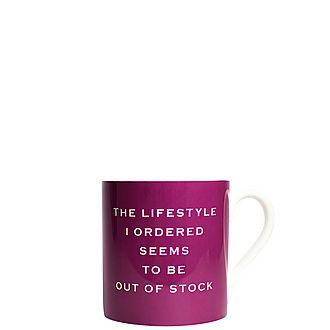 Lifestyle Out of Stock Mug