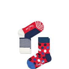 Stripe Dotty Socks