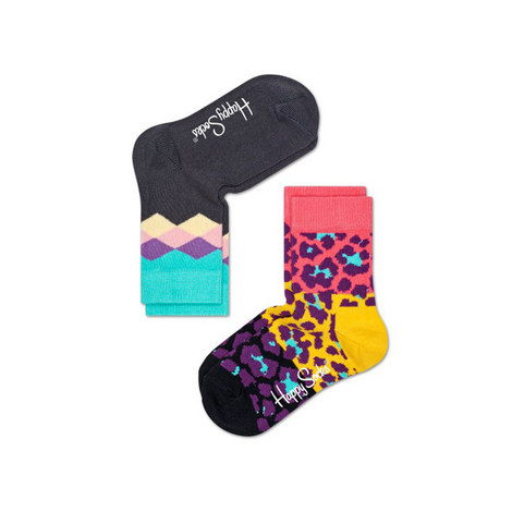 Harlequin Animal Print Socks, ${color}
