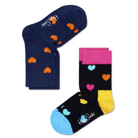 2-Pack Patterned Socks - Baby-Kids, ${color}