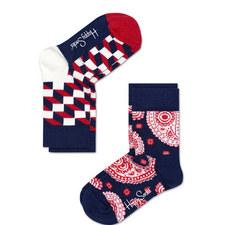 2-Pack Patterned Socks Baby