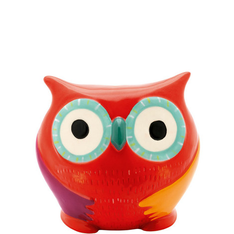 Owl Savings Box, ${color}