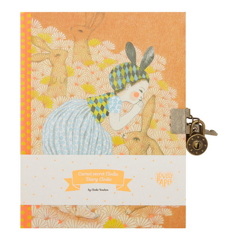 Elodie Secret Notebook, ${color}
