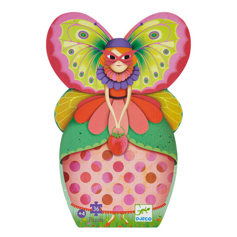 Puzzle Butterfly Lady, ${color}