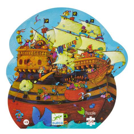 Barbarossa's Boat 54 Piece Puzzle, ${color}