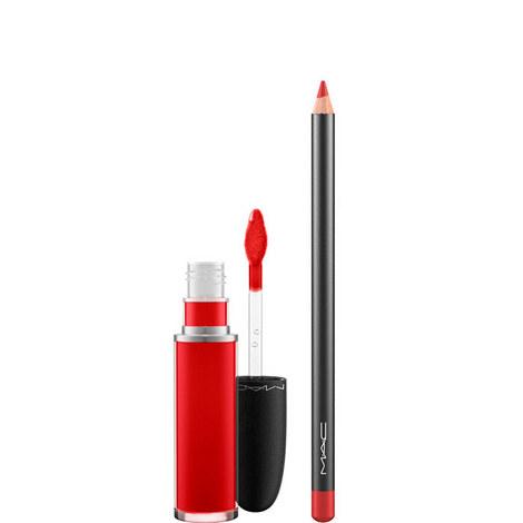 Retro Matte Lip Duo - Fashion Legacy, ${color}