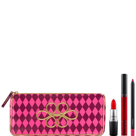 Nutcracker Sweet Red Lip Bag, ${color}