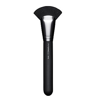 141 Synthetic Face Fan Brush