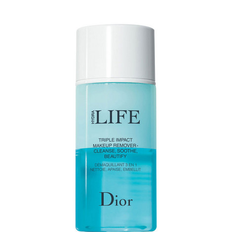 Dior Hydra Life Triple Impact Makeup Remover Cleanse, Soothe, Beautify 125ml, ${color}