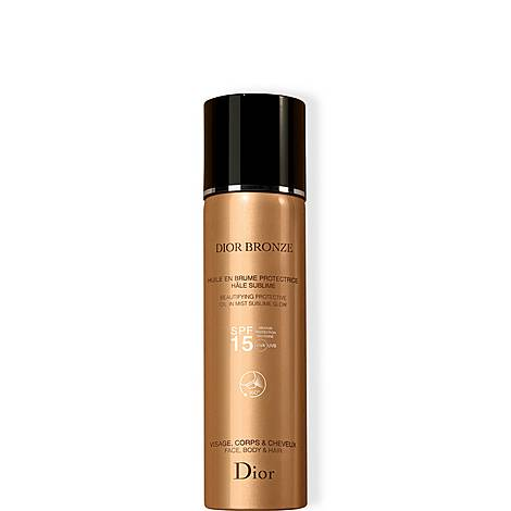 Dior Bronze Beautifying Protective Oil in Mist Sublime Glow SPF 15 125ml, ${color}